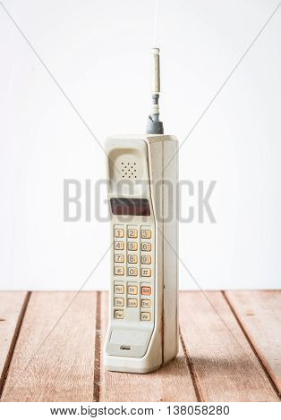 vintage mobile phone telecommunication ( vintage style )
