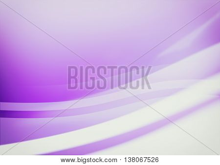 Purple wavy abstract background.