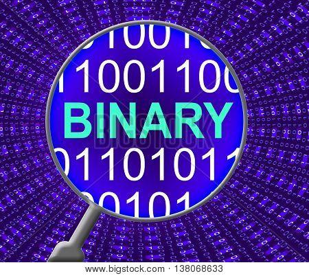 Binary Data Represents Virtual Encode And Bytes