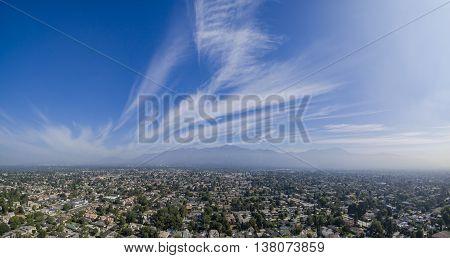 The beautiful San Gabriel Mountains Los Angeles U.S.A. on JUNE 20 2016