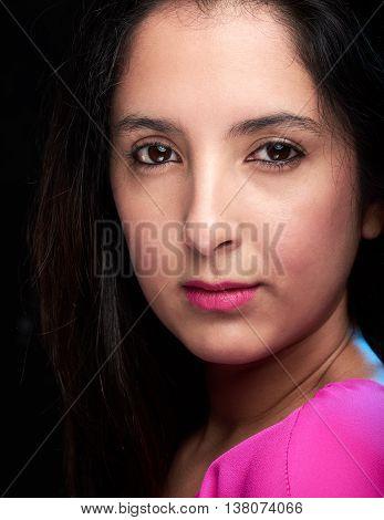 Portrait Of Latino Girl