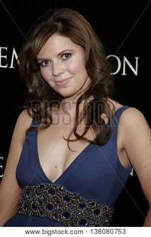 Carly Steel at the Los Angeles premiere of 'Premonition' held at the Cinerama Dome in Hollywood, USA on March 12, 2007.