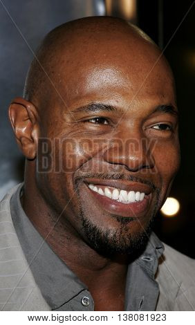 Director Antoine Fuqua at the Los Angeles premiere of 'Shooter' held at the Mann Village Theatre in Westwood, USA on March 8, 2007.