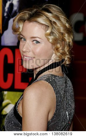 Elizabeth Banks at the Los Angeles premiere of 'Smokin' Aces' held at the Grauman's Chinese Theatre in Hollywood, USA on January 18, 2007.