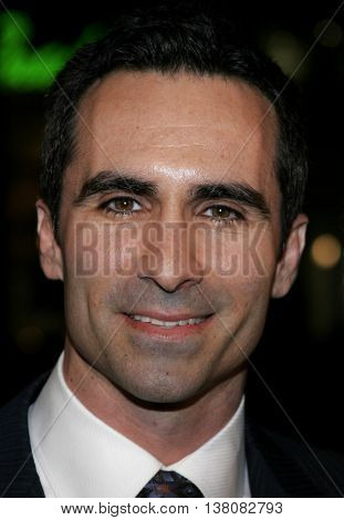Nestor Carbonell at the Los Angeles premiere of 'Smokin' Aces' held at the Grauman's Chinese Theatre in Hollywood, USA on January 18, 2007.