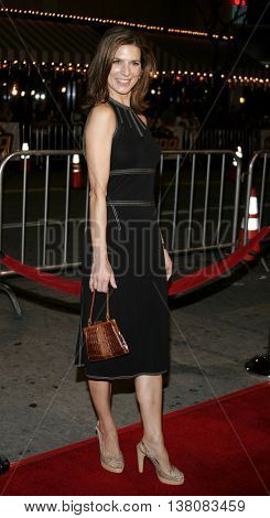 Perrey Reeves at the Los Angeles premiere of 'Shooter' held at the Mann Village Theatre in Westwood, USA on March 8, 2007.