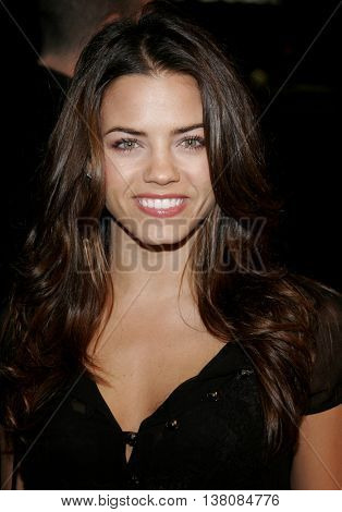 Jenna Dewan at the Los Angeles premiere of 'Smokin' Aces' held at the Grauman's Chinese Theatre in Hollywood, USA on January 18, 2007.