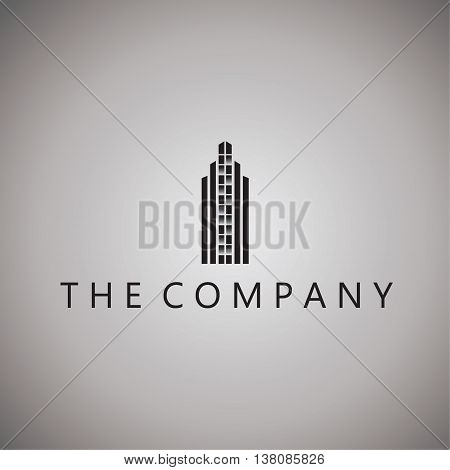building logo ideas design vector on background