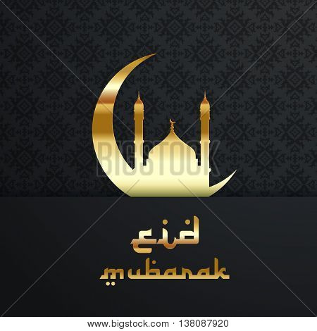 Decorative background for Eid