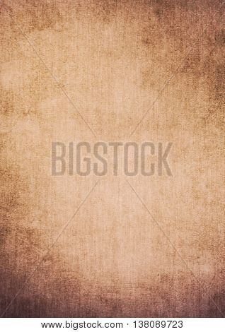 Dirty Gradient Brown Grunge Effect Textured Background