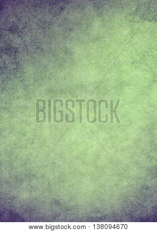 Dirty Gradient Green Grunge Effect Textured Background