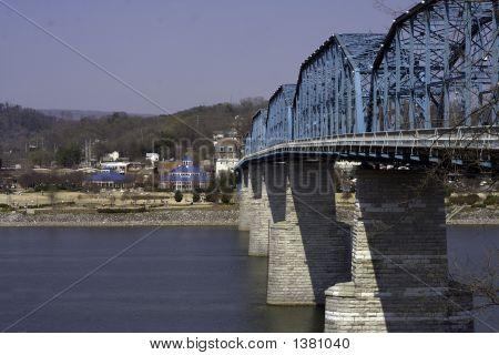 Walnut Street Bridge And Coolidge Park