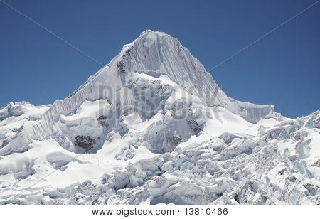 Beautiful summit Alpamayo