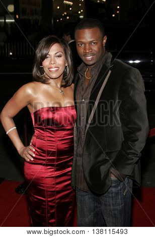 Aonika Laurent and Sean Patrick Thomas at the AFI Centerpiece Gala Screening of 'The Fountain' held at the Grauman's Chinese Theatre in Hollywood, USA on November 11, 2006.