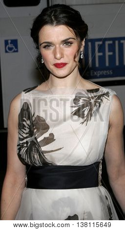 Rachel Weisz at the AFI Centerpiece Gala Screening of 'The Fountain' held at the Grauman's Chinese Theatre in Hollywood, USA on November 11, 2006.