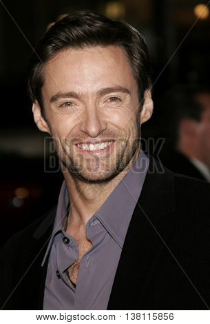 Hugh Jackman at the AFI Centerpiece Gala Screening of 'The Fountain' held at the Grauman's Chinese Theatre in Hollywood, USA on November 11, 2006.