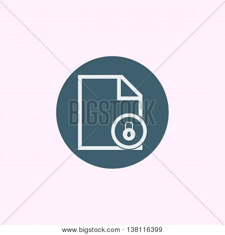 File Close Icon In Vector Format. Premium Quality File Close Symbol. Web Graphic File Close Sign On