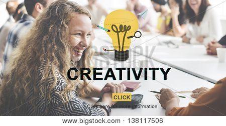 Creativity Ideas Inspire Innovation Concept