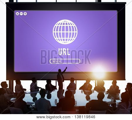 Globe Icon Internet Online Web Graphic Concept