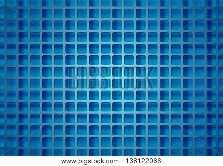 Abstract bright technical squares grid. Vector geometric design