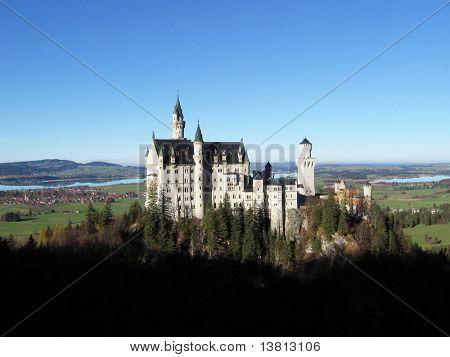 Castle Neuschwanstein, Allgau, Germany