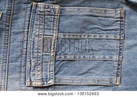 background texture design cloth jeans denim pants at back