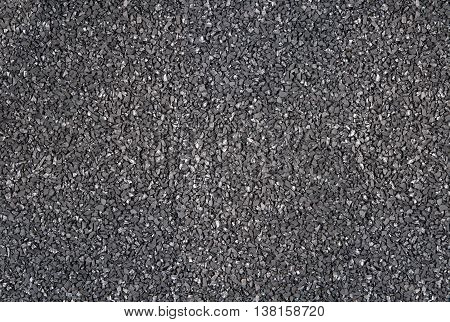 Carbon surface texture background on top view