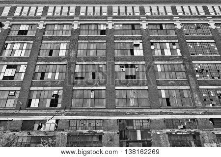 Abandoned Urban Factory - Worn, Broken and Forgotten