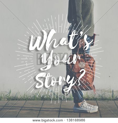 What is Your Story History Identity Memory Concept