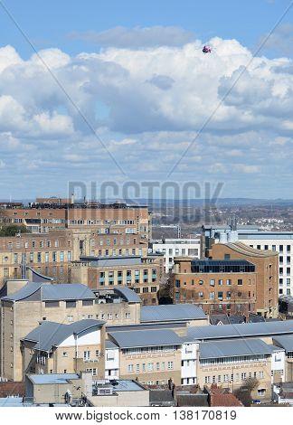 Bird-eye View Over Bristol, taken from Cabot Tower