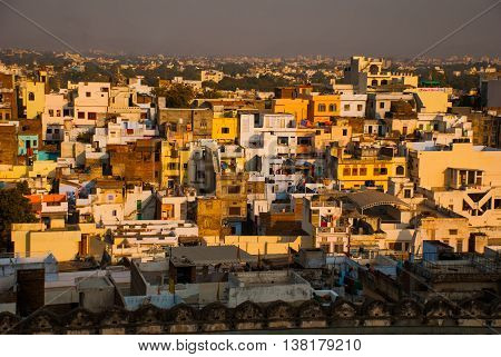 View Of The City. Udaipur, India.