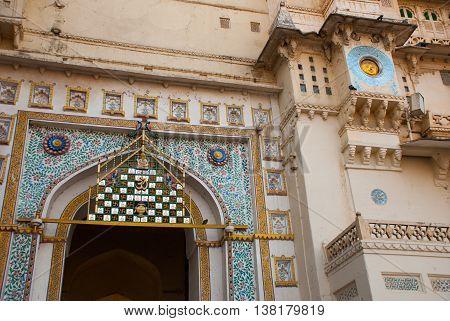 Udaipur City Palace. Udaipur, India.