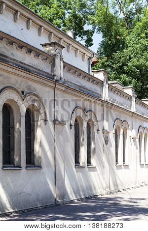 Tempel Synagogue in jewish district of Krakow - Kazimierz Poland