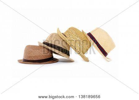 Set of female hat