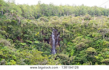 Alexandra Falls Waterfall In Gorges National Park Mauritius