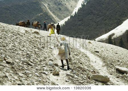 Trail to source of Ganga