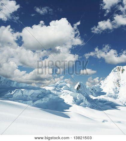 Beautiful high mountain
