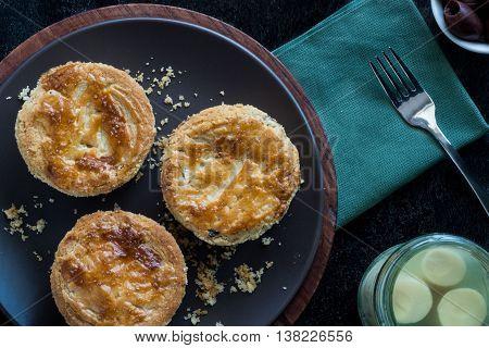 Empada De Palmito (palm Hearts Pie)