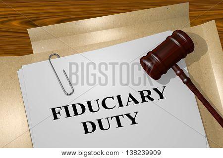 Fiduciary Duty Concept