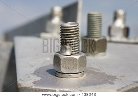 Metal Construction With Screws