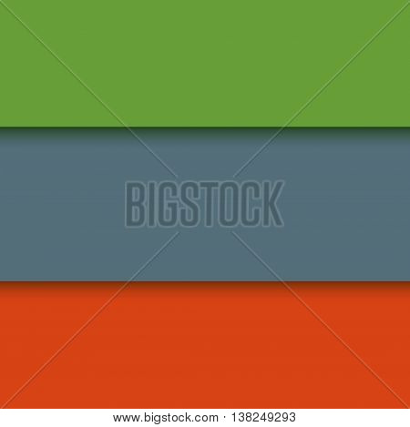 Illustration of unusual modern material design vector background. Modern banner material design background style element color paper. Colorful art motion line material style background.