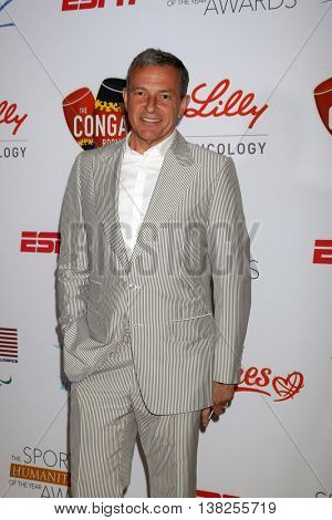 LOS ANGELES - JUL 12:  Bob Iger at the 2nd Annual Sports Humanitarian Of The Year Awards at the Congo Room on July 12, 2016 in Los Angeles, CA