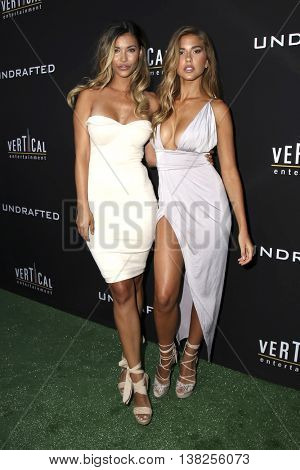 LOS ANGELES - JUL 11:  Guest, Kara Del Toro at the  Undrafted Los Angeles Premiere  at the ArcLight Hollywood on July 11, 2016 in Los Angeles, CA