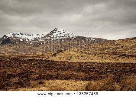 A beautiful view of  Glencoe Scotland UK.