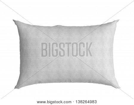 Clasic White Pillow 3D Illustration On White