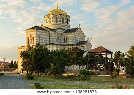 St. Vladimirs cathedral in Chersonesus near Sevastopol, Crimea
