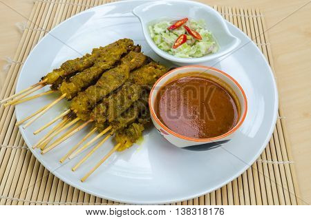 Baked Stringed Meat