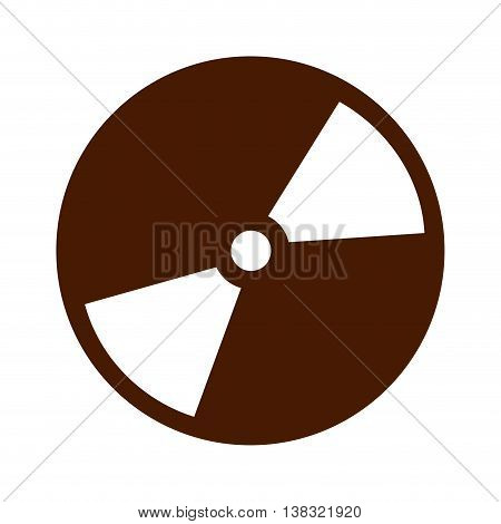 compact disk isolated icon design, vector illustration  graphic