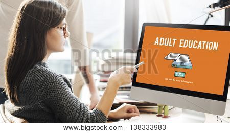 Adult Education Advisory Age Limit Blocked Concept