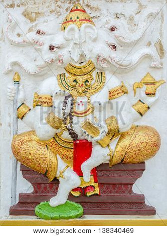 Ganesha Statue,  The Public Is Open To The People Worship. (dwija Ganapati)